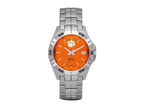 Clemson Tigers 3 Hand Date Color Dial Watch