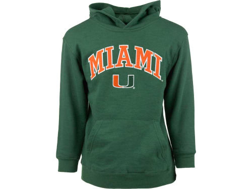 Miami Hurricanes Outerstuff NCAA Youth Fleece Hoodie