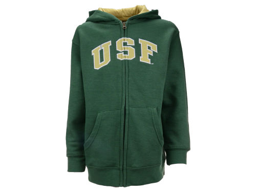 South Florida Bulls Outerstuff NCAA Youth Full-Zip Hoodie