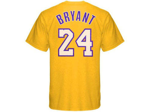 Los Angeles Lakers Kobe Bryant adidas NBA Men's Player T-Shirt