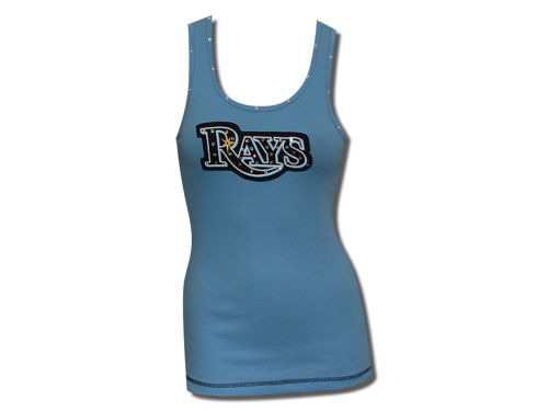 Tampa Bay Rays Majestic MLB Women's Necklace Tank Top