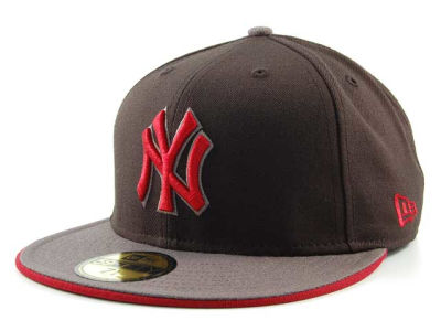 New York Yankees MLB Graphite 59FIFTY Hats