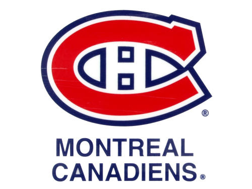 Montreal Canadiens Rico Industries Static Cling Decal