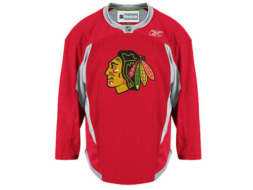 Chicago Blackhawks Reebok NHL Practice Jersey