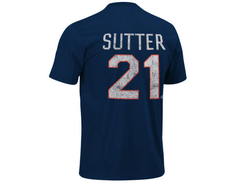 New York Islanders Brent Sutter Old Time Hockey NHL Alumni T-Shirt