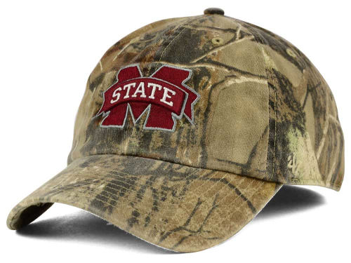 Mississippi State Bulldogs '47 NCAA Real Tree II Franchise Hats