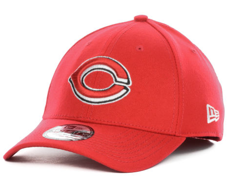 Cincinnati Reds New Era MLB Team Color Tonal Ace 39THIRTY Cap Hats