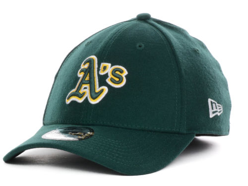 Oakland Athletics New Era MLB Team Color Tonal Ace 39THIRTY Hats