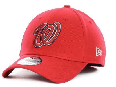 Washington Nationals MLB Team Color Tonal Ace 39THIRTY Hats