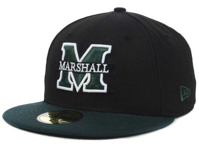 Marshall Thundering Herd NCAA 2 Tone 59FIFTY Cap Hats