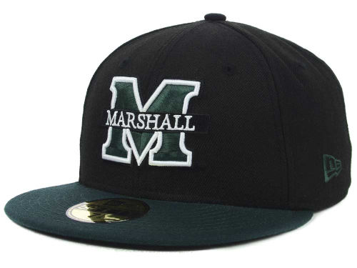 Marshall Thundering Herd New Era NCAA 2 Tone 59FIFTY Cap Hats
