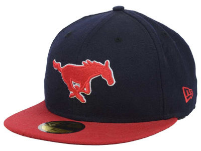 Southern Methodist Mustangs NCAA 2 Tone 59FIFTY Hats