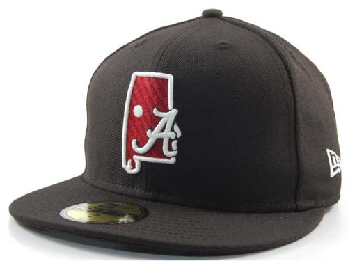 Alabama Crimson Tide New Era NCAA State 59FIFTY Hats