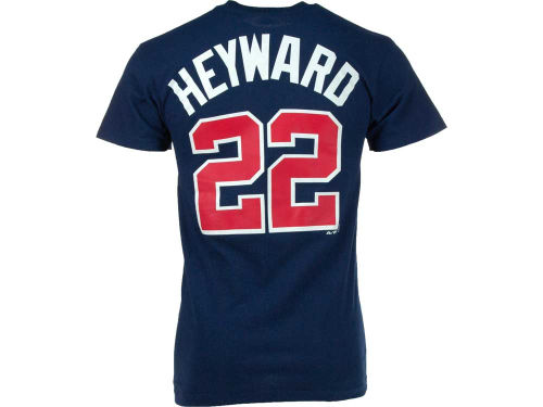 Atlanta Braves Jason Heyward Majestic MLB Player T-Shirt