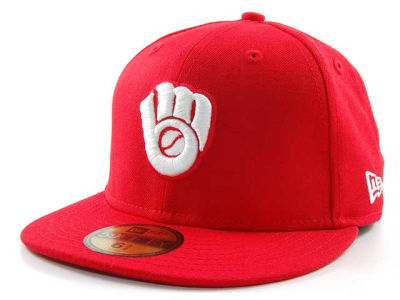 Milwaukee Brewers MLB C-Dub 59FIFTY Hats