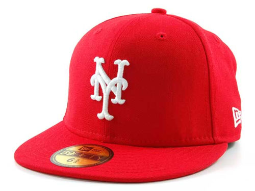 New York Mets New Era MLB C-Dub 59FIFTY Hats