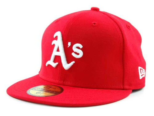 Oakland Athletics New Era MLB C-Dub 59FIFTY Hats