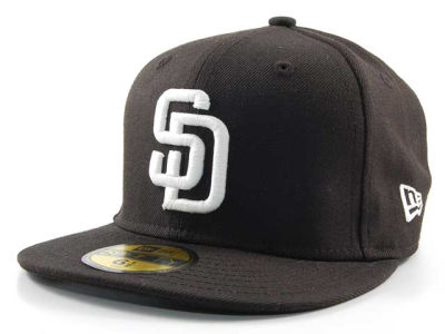 San Diego Padres MLB C-Dub 59FIFTY Hats