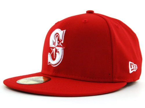 Seattle Mariners New Era MLB C-Dub 59FIFTY Hats