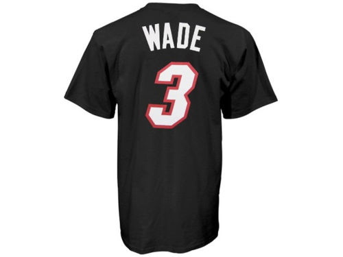 Miami Heat Dwayne Wade Outerstuff NBA Toddler Player T-Shirt