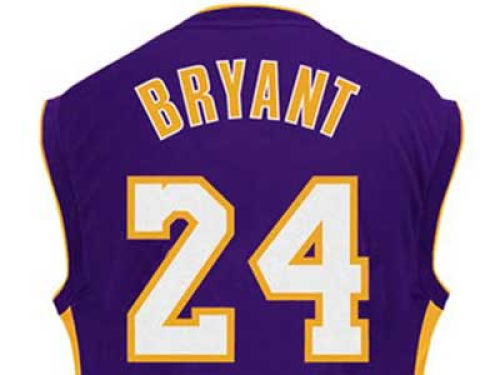 Los Angeles Lakers Kobe Bryant Outerstuff NBA Replica Jersey