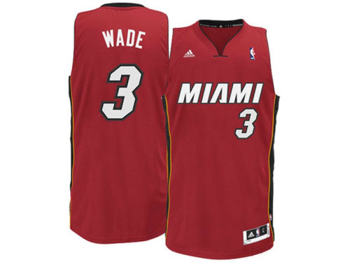 Miami Heat Dwayne Wade Outerstuff NBA Revolution 30 Swingman Jersey