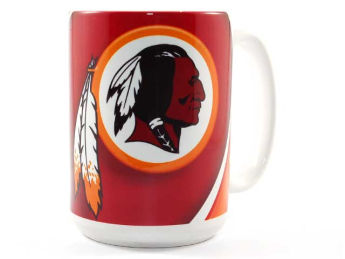 Washington Redskins Hunter Manufacturing 15oz Jumbo Mug images, details and specs