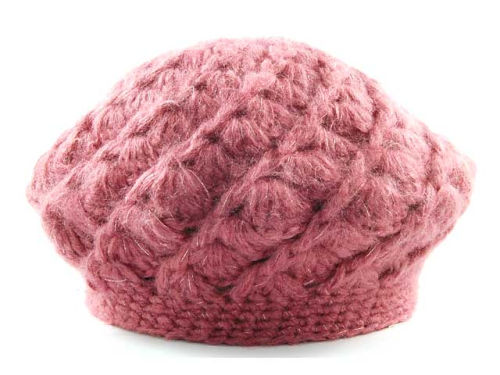 LIDS Private Label PL Lurex Knit Beret Hats