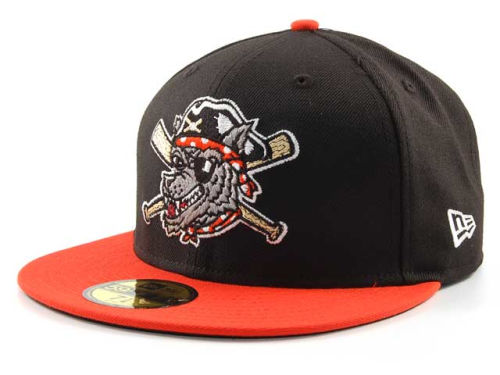 Erie SeaWolves New Era MiLB 59FIFTY Hats