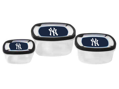 New York Yankees Square Storage Containers