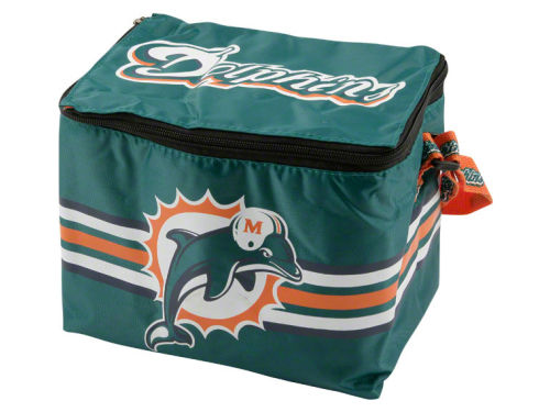 Miami Dolphins 6pk Lunch Cooler