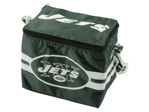 New York Jets Team Beans 6pk Lunch Cooler