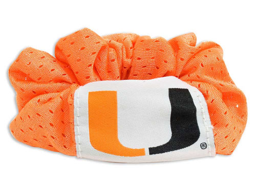 Miami Hurricanes NCAA Hair Twist