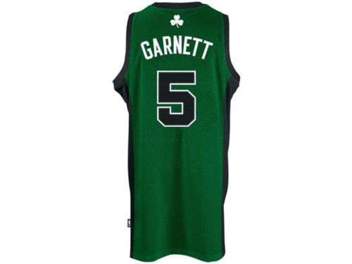 Boston Celtics Kevin Garnett adidas NBA Revolution 30 Swingman Jersey