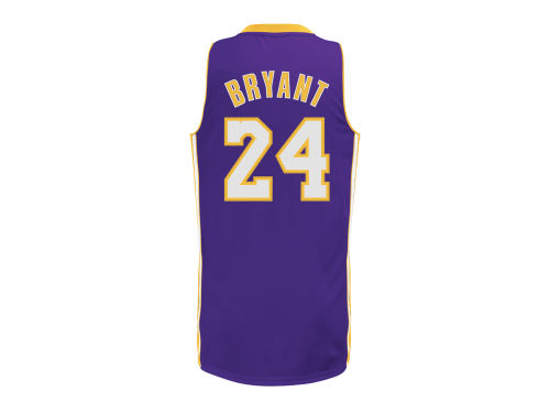 Los Angeles Lakers Kobe Bryant adidas NBA Revolution 30 Swingman Jersey