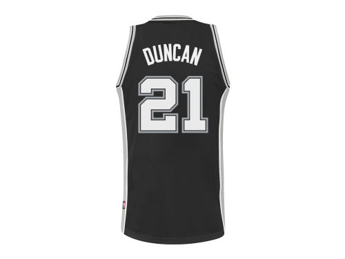 San Antonio Spurs Tim Duncan adidas NBA Revolution 30 Swingman Jersey