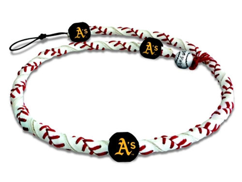 Oakland Athletics Game Wear Frozen Rope Necklace