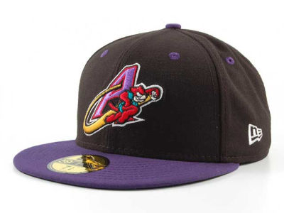 Akron Aeros MiLB 59FIFTY Hats