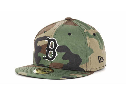 Boston Red Sox New Era MLB BC Camo 59FIFTY Cap Hats