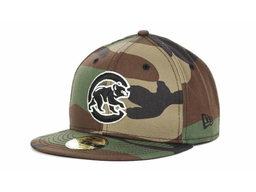 Chicago Cubs New Era MLB BC Camo 59FIFTY Cap Hats