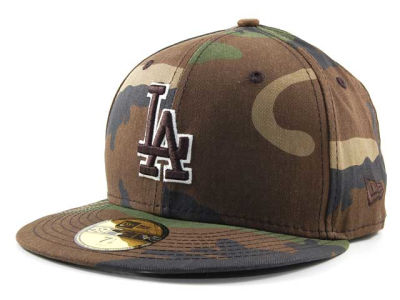 Los Angeles Dodgers MLB BC Camo 59FIFTY Hats