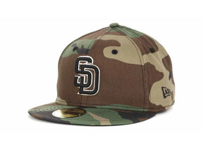 San Diego Padres MLB BC Camo 59FIFTY Cap Hats