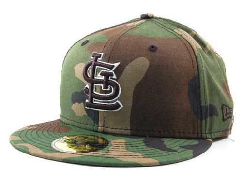 St. Louis Cardinals New Era MLB BC Camo 59FIFTY Cap Hats