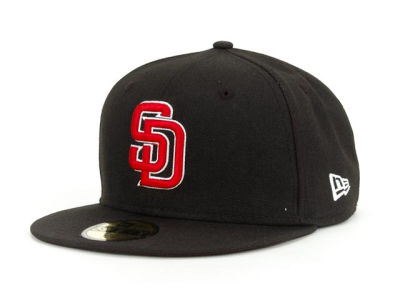 San Diego Padres BR Stock 59FIFTY Cap Hats