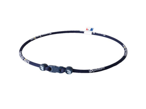 Tampa Bay Rays Phiten MLB X30 Necklace