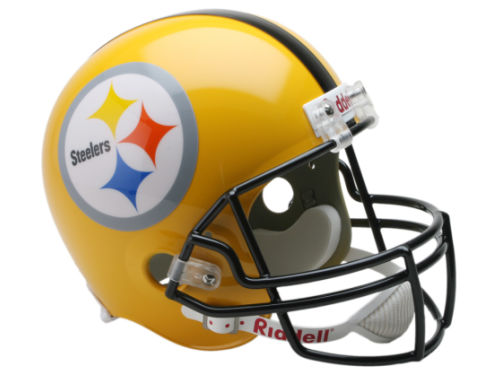 Pittsburgh Steelers Riddell NFL Deluxe Replica Helmet