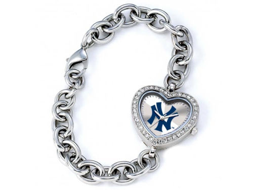 New York Yankees Game Time Pro Womens Heart Series Watch