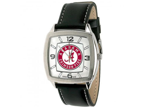 Alabama Crimson Tide Game Time Pro Retro Leather Watch