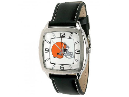 Cleveland Browns Retro Leather Watch