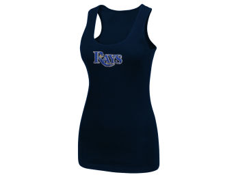 Tampa Bay Rays 5th and Ocean Ladies Tank Rhinestone images, details and specs